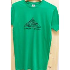 Men`s T-shirt green-Pyramid