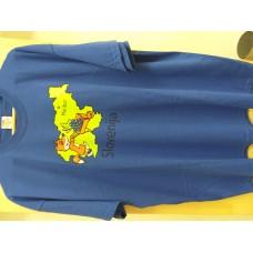 Men T:shirt-Golden fox