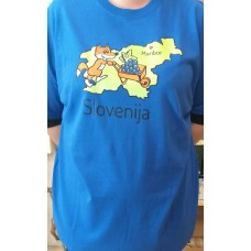 Men T:shirt-Golden fox